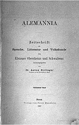 Alemannia (Band 15)