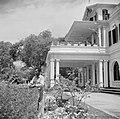 De tuin van het Gouverneurspaleis aan het Gouvernementsplein in Paramaribo, Bestanddeelnr 252-2279.jpg