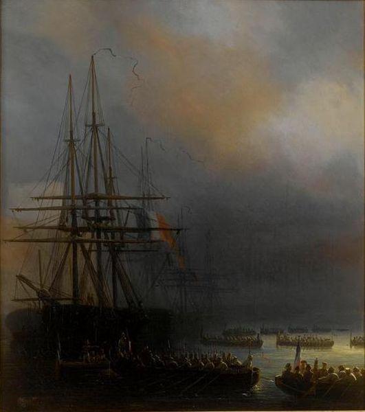 Fichier:Debarquement des Francais a Vera Cruz 1838.jpg
