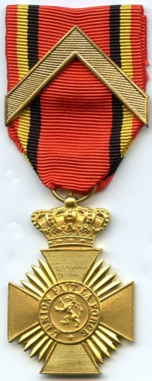 Military Decoration (Belgium) - Image: Deco militaire guerre 1cl