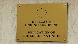 Delegation of the European Union to Moldova - Image: Delegația Uniunii Europene în Republica Moldova (placa)
