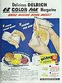 Delrich E-Z Color Pak Margarine, 1948.jpg
