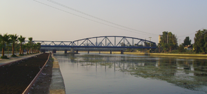 Demirköprü railway bridge in Adana