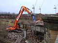 Demolition of Partick Central railway station 2.jpg