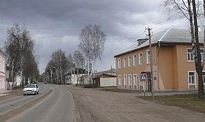 Demyansk - 25 Oktyabrya Street in Demyansk