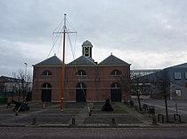 Den Helder - Gebouw bij Marinemuseum.JPG