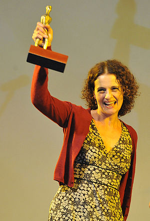Candango for Best Actress - Brazilian actress Denise Fraga received the best actress award for the film Hoje at the 44th Festival de Brasília, (2011).