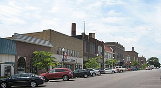 Denison, Iowa - Downtown Denison