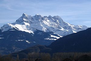 Chablais Alps - The seven summits of the Dents du Midi