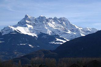 Chablais Alps - The seven summits of the Dents du Midi