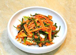 Codonopsis lanceolata - deodeok kimchi