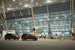 Departures terminal Trivandrum International Airport Kerala India.jpg