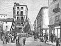 Derribo de la casa del núm. 1 de la calle de Sevilla, con motivo del ensanche proyectado - La Ilustración Europea y Americana - 15 de marzo de 1879.jpg