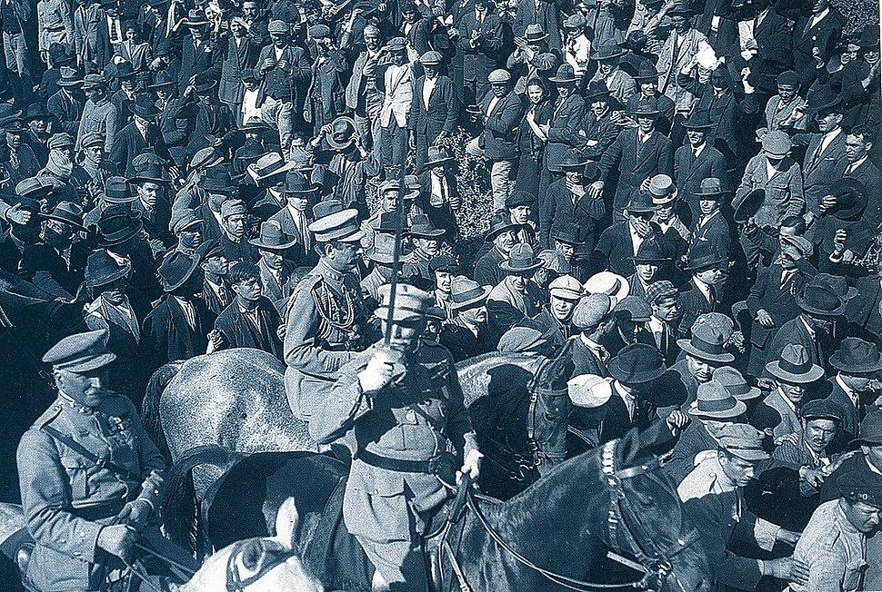 Desfile de tropas 28 de Maio 1926