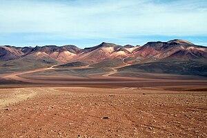 Geography of Bolivia - Image: Desierto Salvador Dalí, Bolivia
