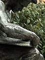 "Detail, Daniel Chester French's 1904 Bronze, ""Labor Reading"" (Pittsburgh, PA) (2893353070).jpg"
