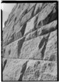 Detail of stone work - Ames Monument, Interstate 80, Laramie, Albany County, WY HABS WYO,1-LARAM,1-6.tif