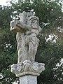 Detalle cruceiro, igrexa de Vimianzo, Santiso, A Coruña 2.JPG