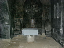 Devič Monastery interior