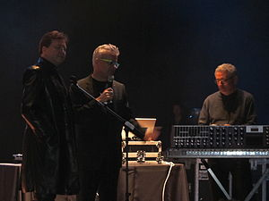 Moogfest - Mark Mothersbaugh and Gerald Casale accept Moog Innovator Award