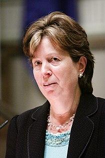 Diana Wallis, Europaparalmentets vice president talar vid Nordiska Radets session i Helsingfors. 2008-10-26.jpg