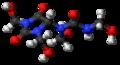 Diazolidinyl urea 3D ball.png