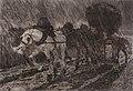 Diligencia nocturna, óleo sobre lienzo, 61 x 45,8 cm., firmado en el ángulo inferior izquiedo, obra de 1889..jpg