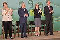 Dilma Rousseff, Michel Temer, Gleisi Hoffmann e Aldo Rebelo 2011.jpg