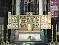 Dinant Collégiale Notre Dame reredos 01.JPG