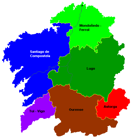 Dioceses con nome
