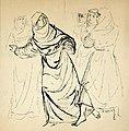 Disegno per copertina di libretto, disegno di Peter Hoffer per La figlia di Iorio (1954) - Archivio Storico Ricordi ICON012476.jpg
