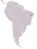 two populations in eastern Brazil near the Atlantic Ocean