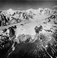 Dogs Head and Capps Glaciers, Terminus of mountain glacier with firn line, Capps Glacier in the background, and icefall and (GLACIERS 6470).jpg