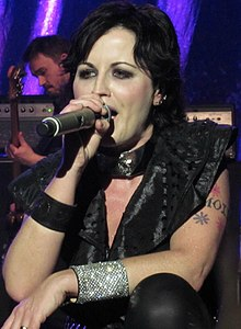 Dolores O'Riordan performing in May 2012.jpg