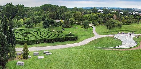 Domaine de Maizerets park, Québec city, Canadá