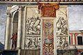 Domenico ghirlandaio, monocromi della cappella tornabuoni (visitazione e annuncio a zaccaria), 1485-90, 01.jpg