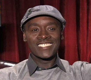 Don Cheadle at his Brooklyn's Finest Interview