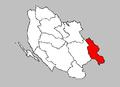 Donji Lapac municipality map.PNG