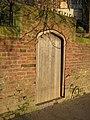 Doorway on Kleve Walk - geograph.org.uk - 1145759.jpg