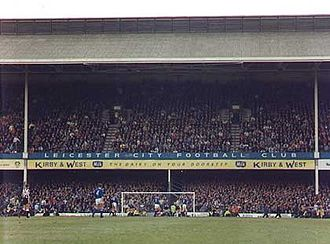 King Power Stadium - Image: Double Decker Stand at Filbert Street