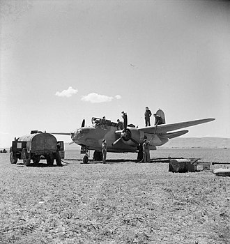 Canrobert Airfield - Image: Douglas Boston Algeria Royal Air Force Operations in the Middle East and North Africa, 1939 1943. CNA578