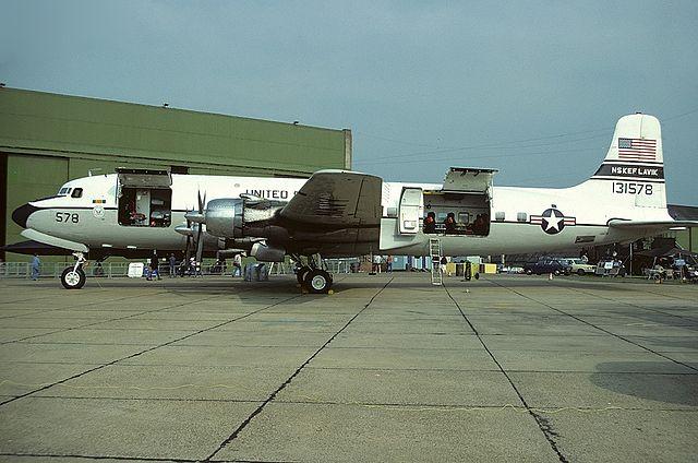 File:Douglas C-118B Liftmaster (DC-6A), USA - Navy ...
