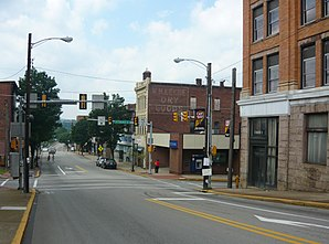 East Crawford Avenue in Connellsville