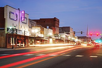 Malvern, Arkansas - Downtown Malvern