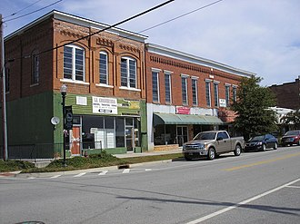 Downtown Millen Historic District - Image: Downtown Millen Historic District 9