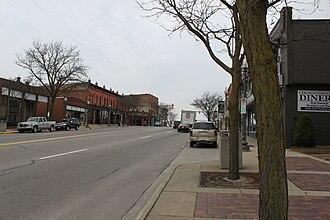Saline, Michigan - Downtown Saline