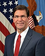 Dr. Mark T. Esper – Secretary of Defense.jpg