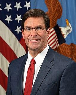Mark Esper 27th United States secretary of defense