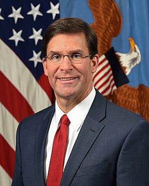Dr. Mark T. Esper – Secretary of Defense.jpg