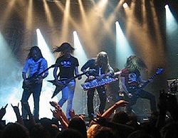 "DragonForce på ""Finnish Metal Expo"""